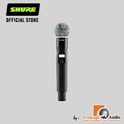 SHURE QLXD2/B58A - QLXD2 Handheld Transmitter With Beta 58A Capsule